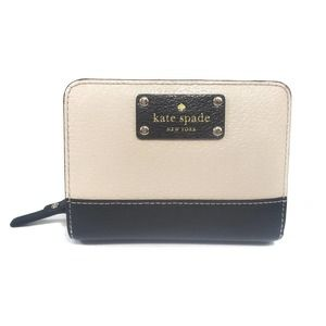 Kate Spade Cara Wellesley Black Pebble Wallet